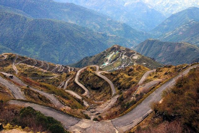 A long winding road