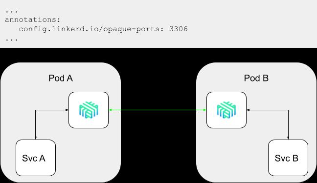 Opaque Ports Configuration